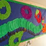 Hung Caterpillar Display