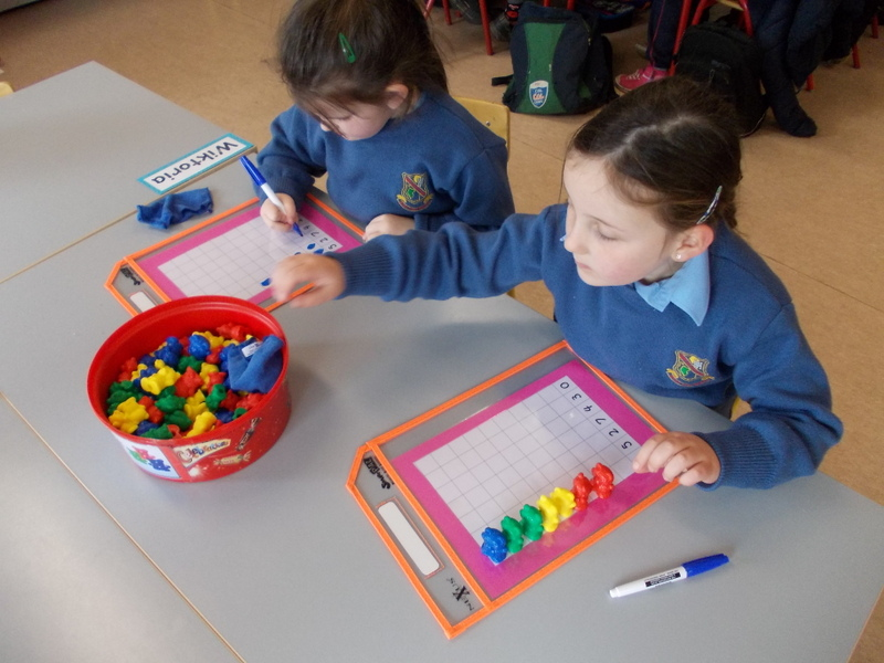 Junior Infants – Maths Stations | Little Island National School